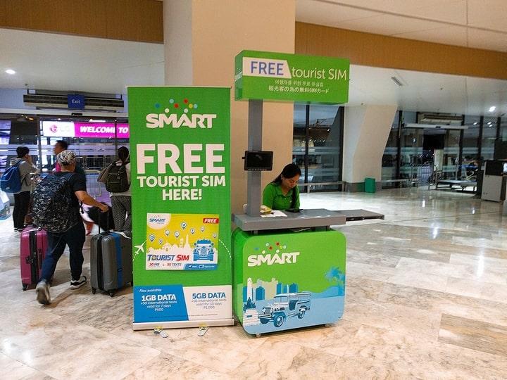 中長期滞在者におすすめ!マニラ空港でSIMカードを購入する方法